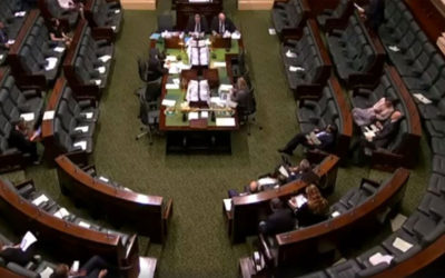 Give a Care in Victorian Parliament