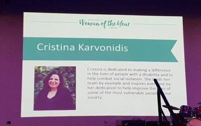 Give a Care's General Manager, Cristina Karvonidis